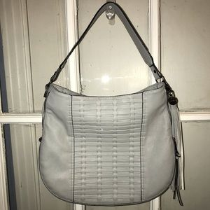Gray Steve Madden purse // all offers welcome!